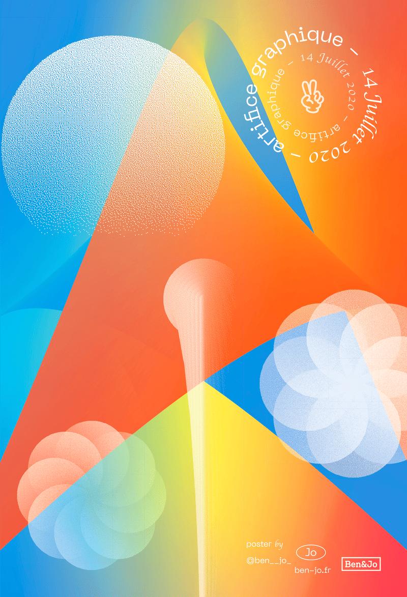 typo graphic poster