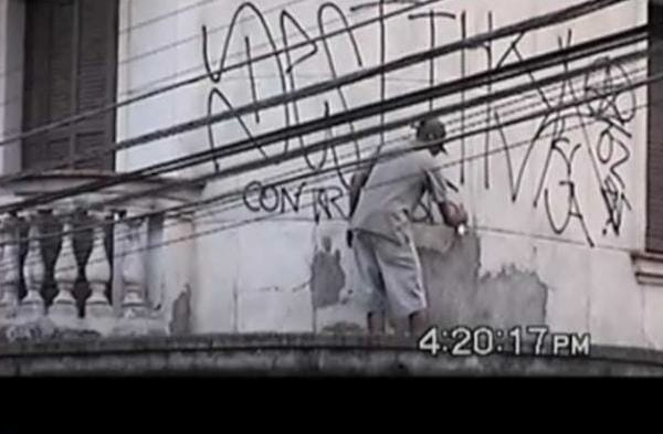 Pixo, ce n'est pas du graffiti 1