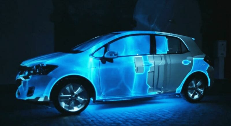 Toyota Auris Hybrid : Projection 3D Mapping 4