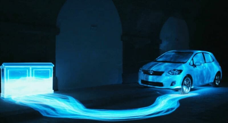Toyota Auris Hybrid : Projection 3D Mapping 3