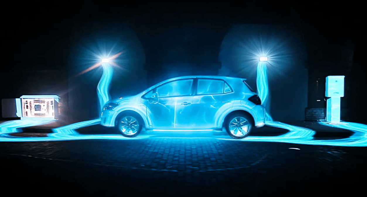 Toyota Auris Hybrid : Projection 3D Mapping 1