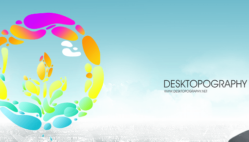 Desktopography 2010 : Nature's Design on Your Desktop 1