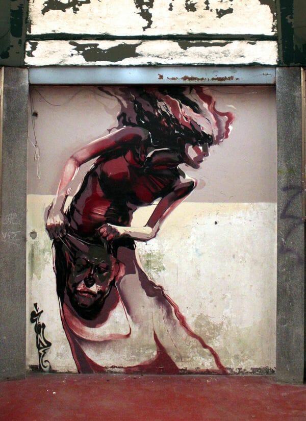 street art mural par Robert Proch