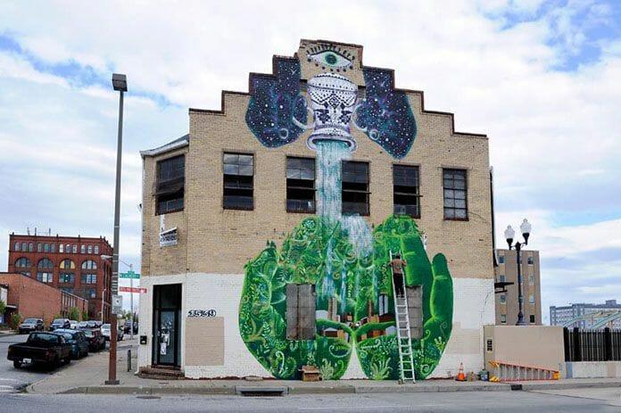 Open Walls Baltimore : Street Art 2