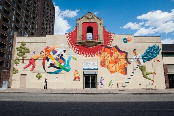 Open Walls Baltimore : Street Art 1