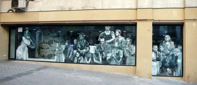 Borondo : Street artist