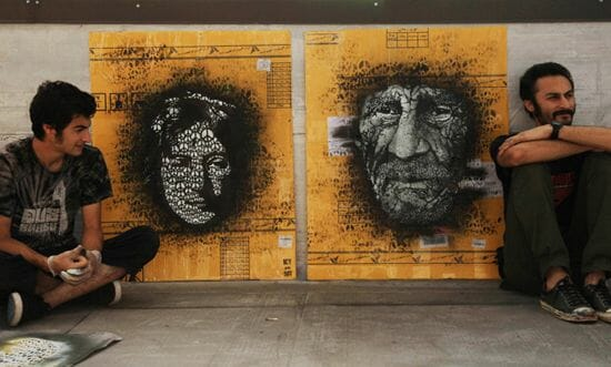 ICY et SOT : Street Art Iranien 1