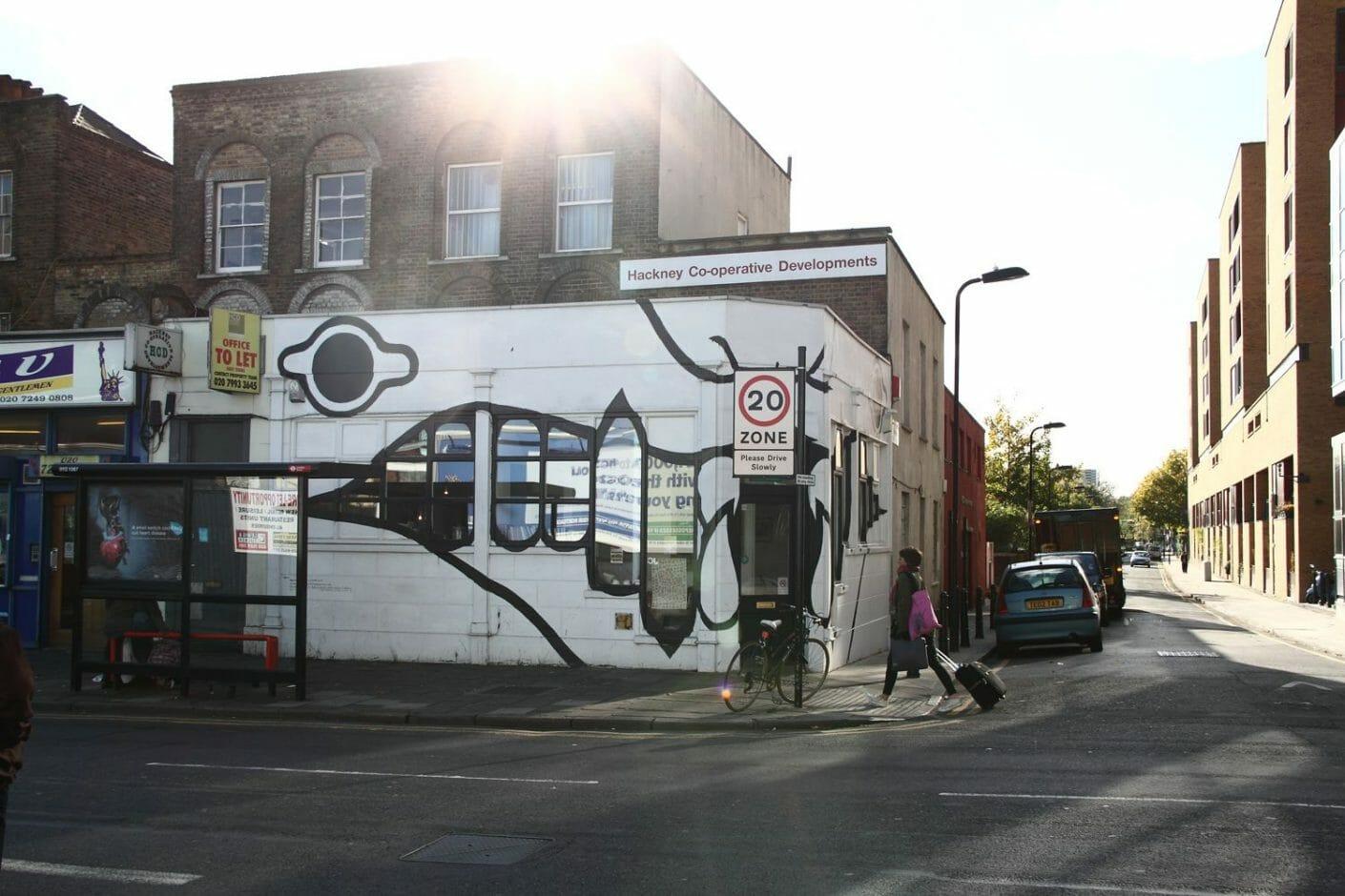 oeuvre art urbain londres