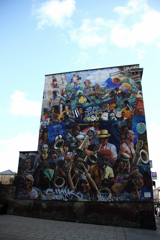 street art londonien