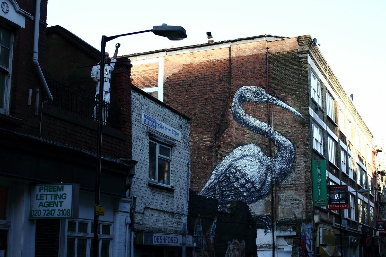 Street Art à Londres 1