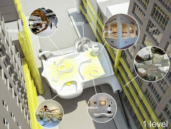ZA Architects : Hotel in New York 5