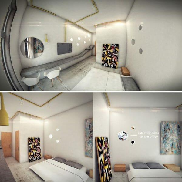 ZA Architects : Hotel in New York 11