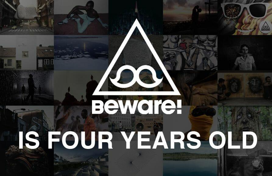 Beware! a quatre ans ! 1
