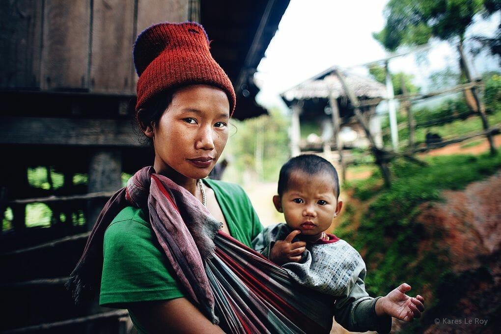 Kares Le Roy tribu Karen Nord Thailande