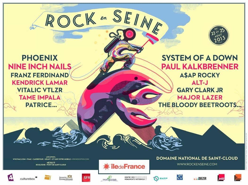 Festival : Rock en Seine 1