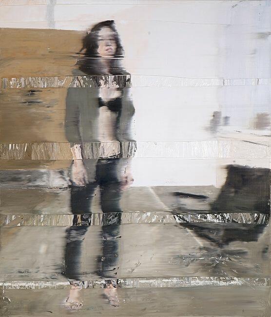 Model in the Studio, 2011 Oil on canvas 140 x 120 cm