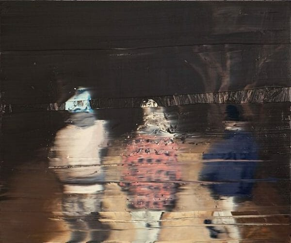 In to the Blackwoods II, 2010 Oil on canvas 100 x 120 cm