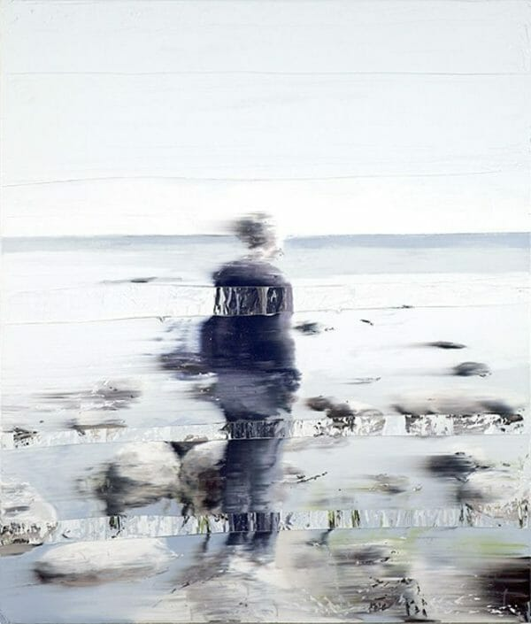Floating Stones, 2010 Oil on canvas 140 x 120 cm