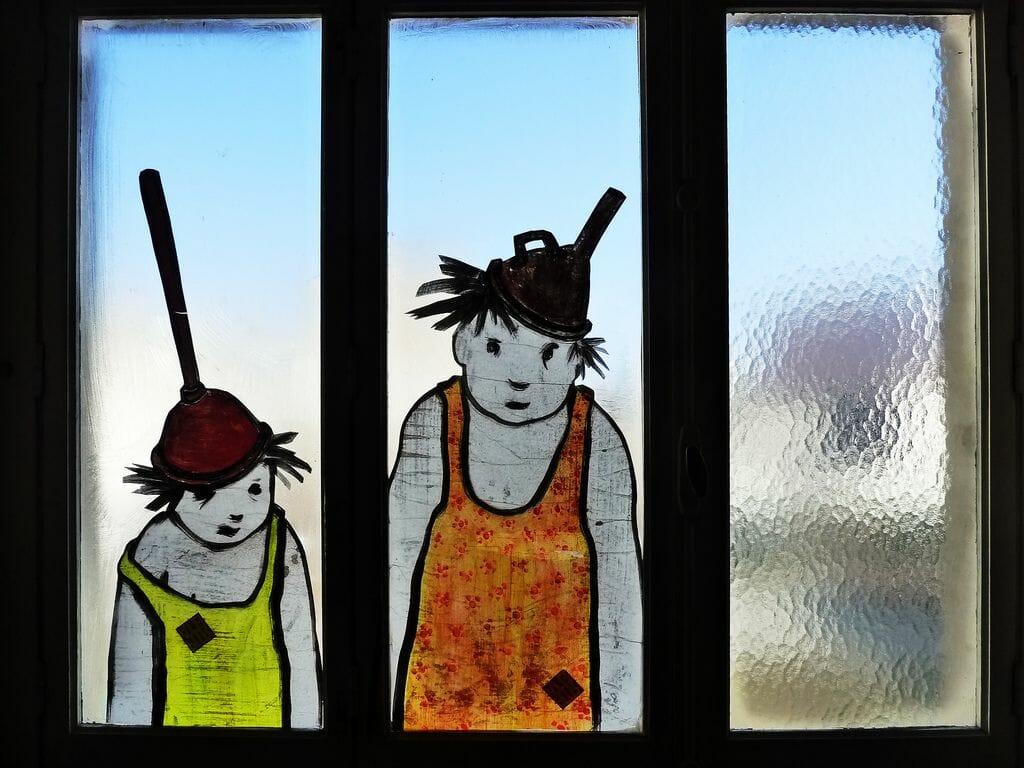 creation sur vitre