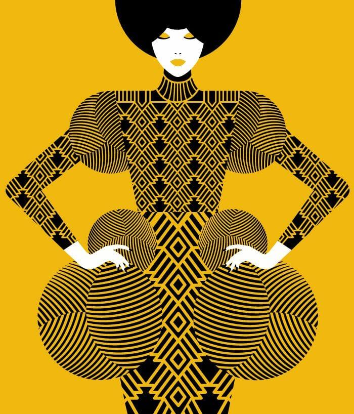 joli dessin numérique de malika favre