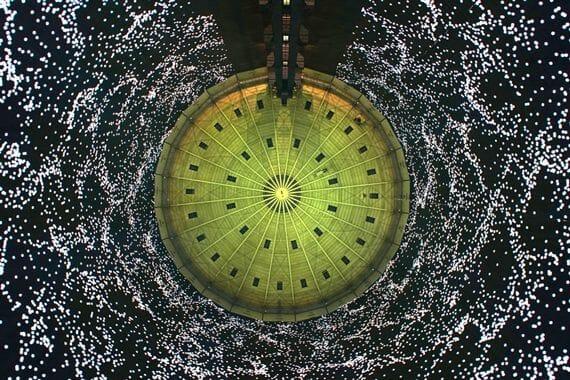 320° LICHT, la cathédrale de lumière par URBANSCREEN 1