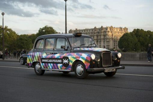 Minicab of Sound, les taxis londoniens débarquent à Paris ! 1