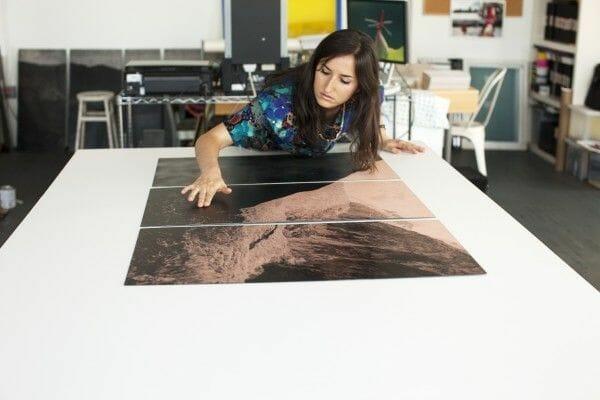 Dans l'atelier de l'artiste Déborah Farnault 1