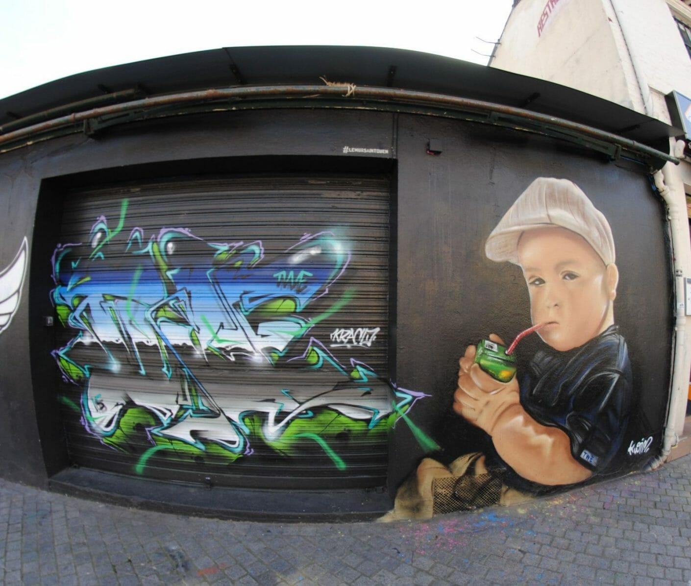 Kraco x Le Mur Saint Ouen 30