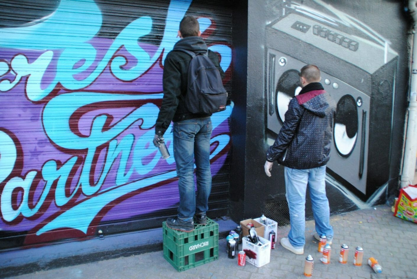 resh Partnerz x Le Mur Saint Ouen 26