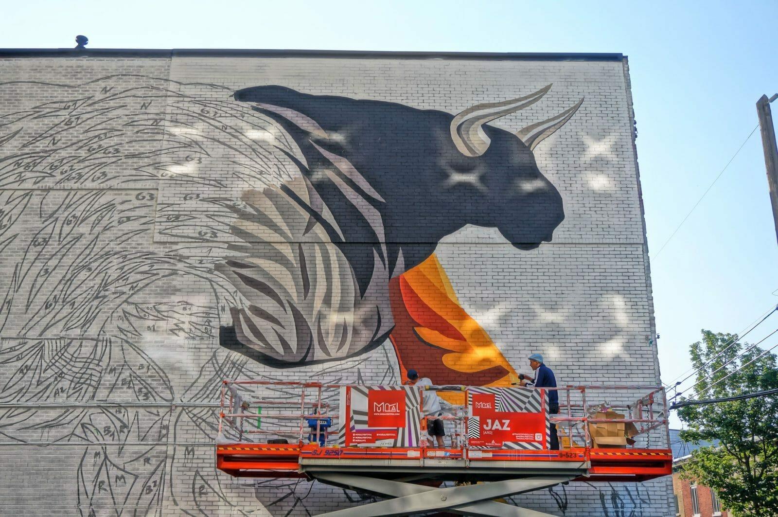 Mural Festival : quand le street art envahit Montréal 1