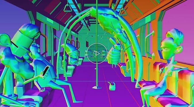 Une 3D sous acide pour illustrer l'effet de la musique sur notre esprit 1
