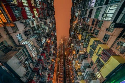 La brumeuse Hong-Kong s'apprécie à la verticale 2