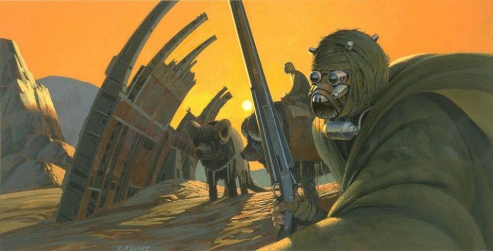 Ralph Angus McQuarrie desert
