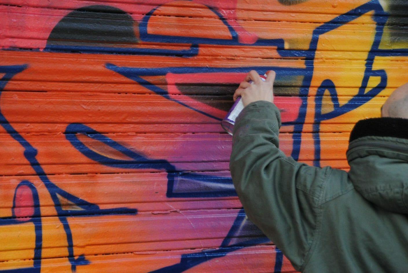 Yellow x Le Mur Saint Ouen – Interview et performance 9