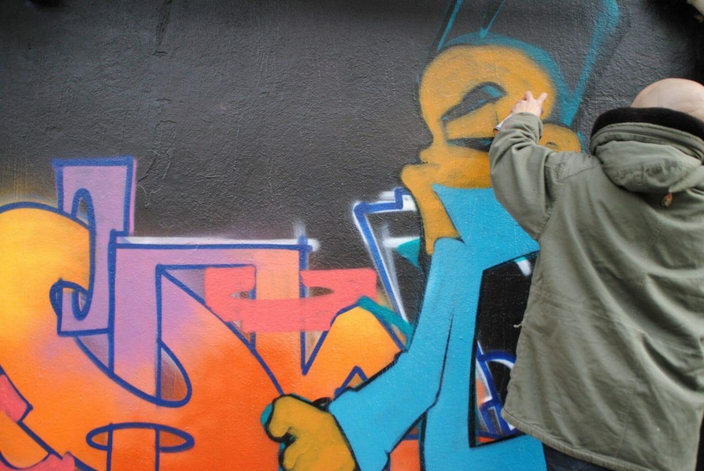 Yellow x Le Mur Saint Ouen – Interview et performance 11