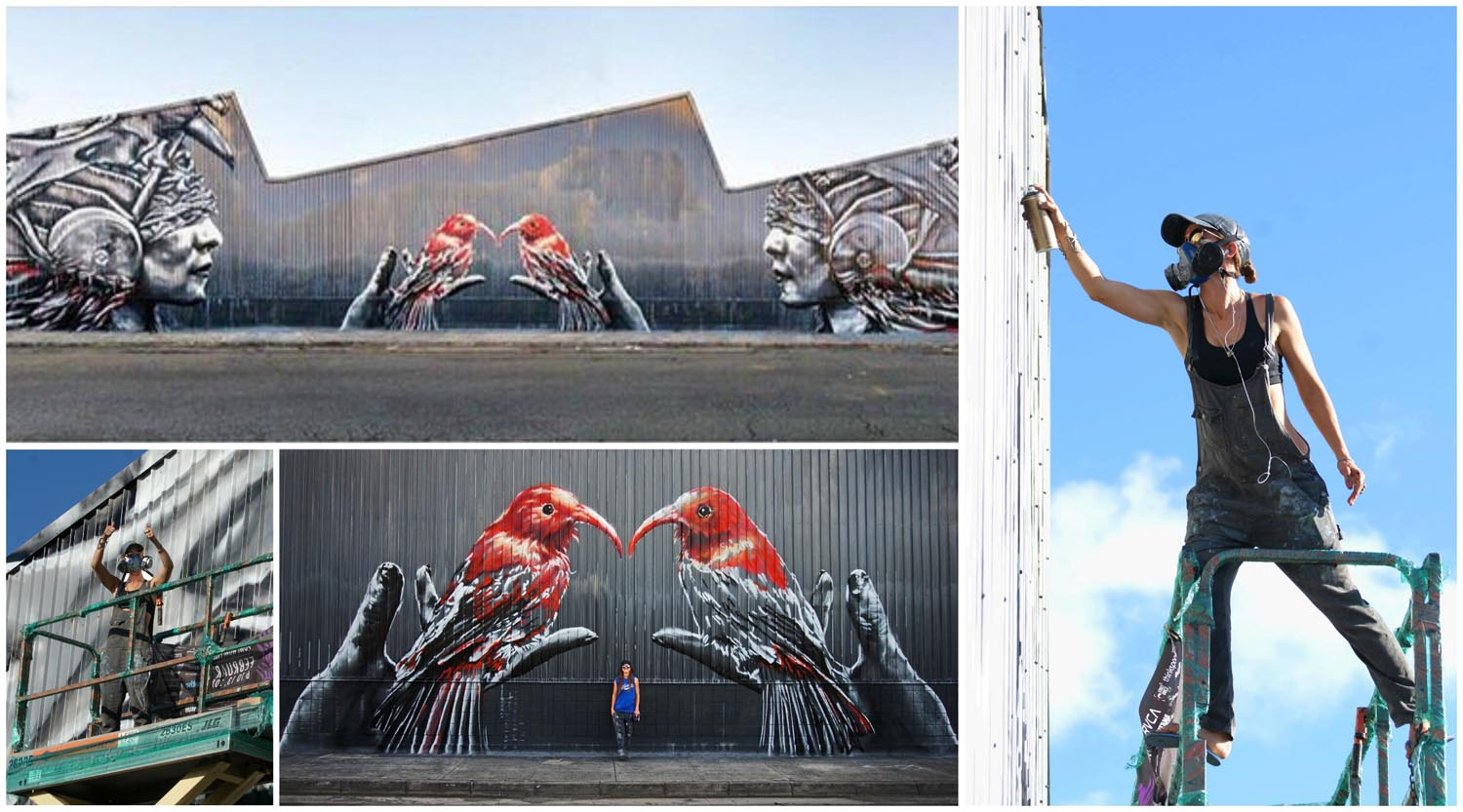 Pow! Wow! Hawaii 2016 – 1 km carré de concentré de street-art 2