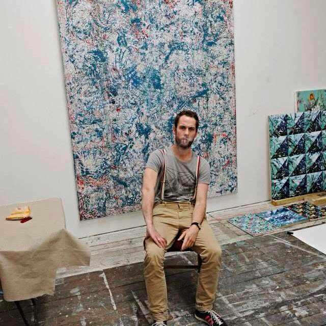 Julien in his atelier I Courtesy of Julien Des Monstiers