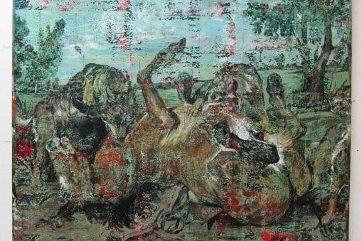 Julien Des Monstiers est ce que la peinture contemporaine française fait de mieux. Aujourd'hui. Maintenant 39