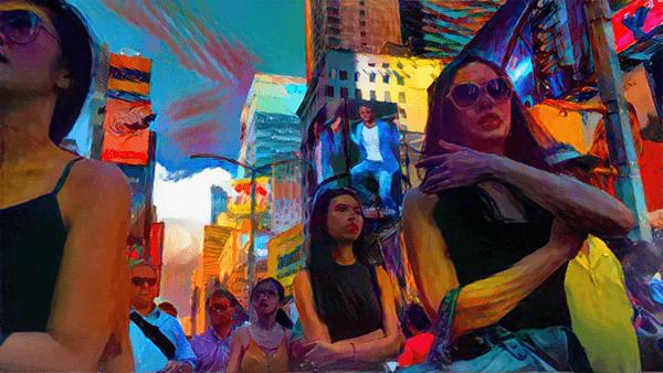 Danil Krivoruchko a peint New York avec un algorithme (et c'est magnifique) 3