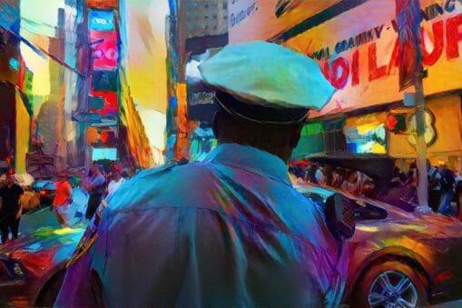 Danil Krivoruchko a peint New York avec un algorithme (et c'est magnifique) 1