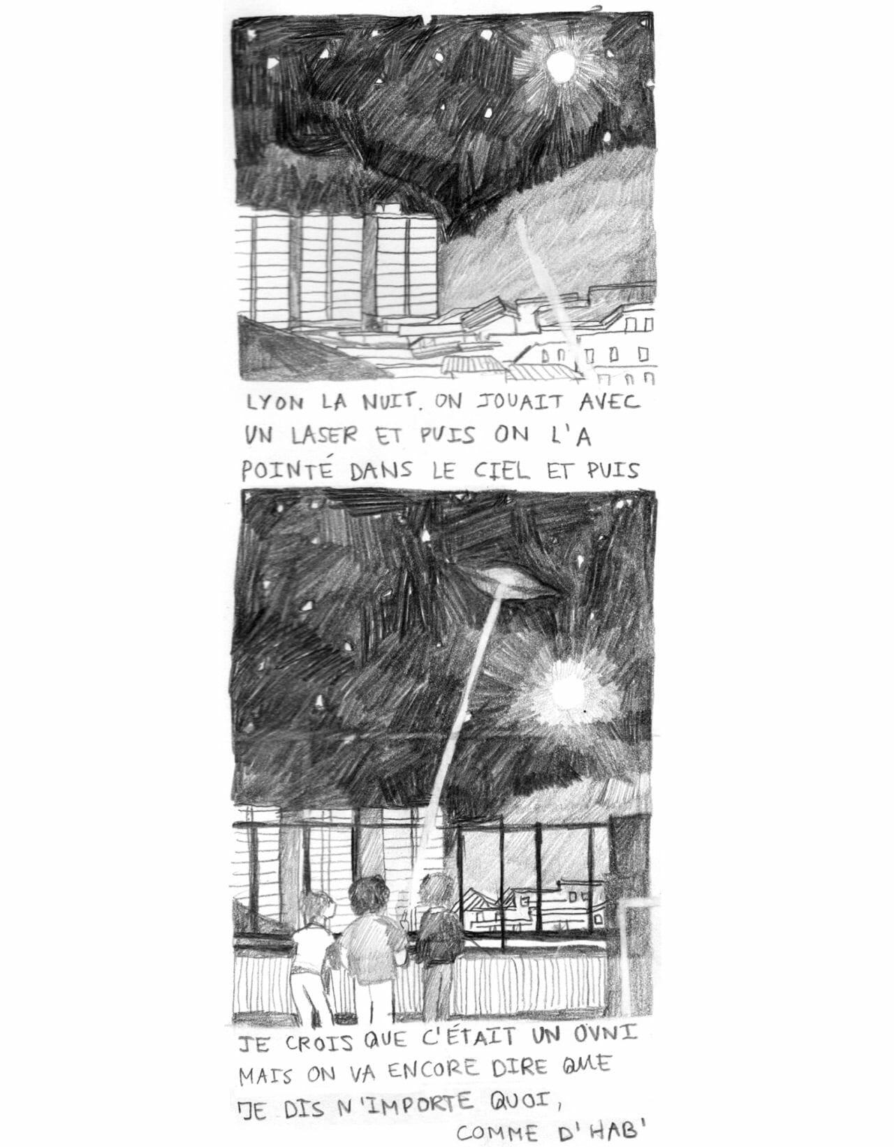 Musique nocturne et dessins d'adolescents: une discussion insomniaque avec Estelle Marchi 4