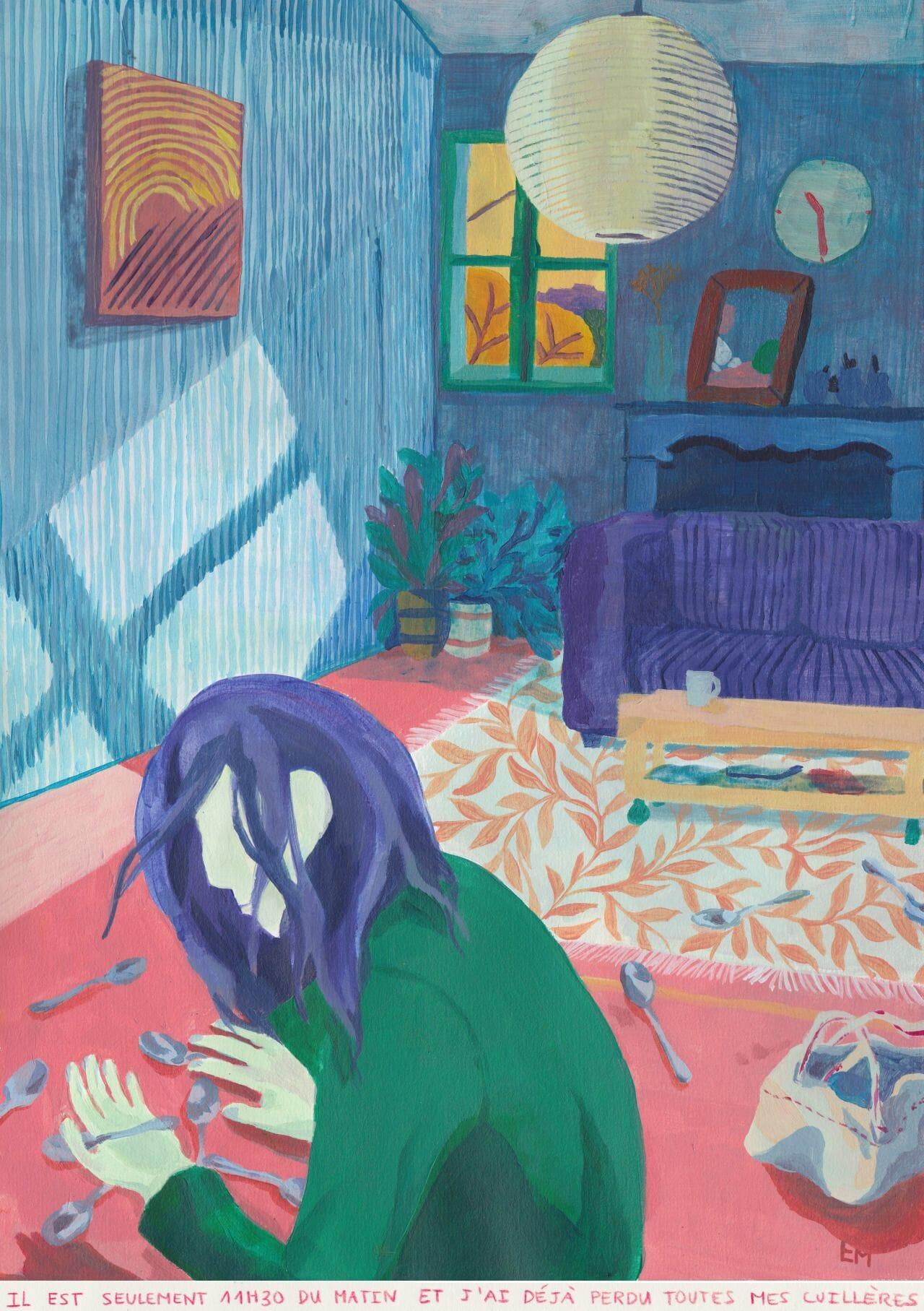 Musique nocturne et dessins d'adolescents: une discussion insomniaque avec Estelle Marchi 6
