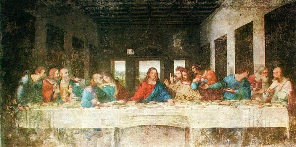 la Cene leonard De Vinci