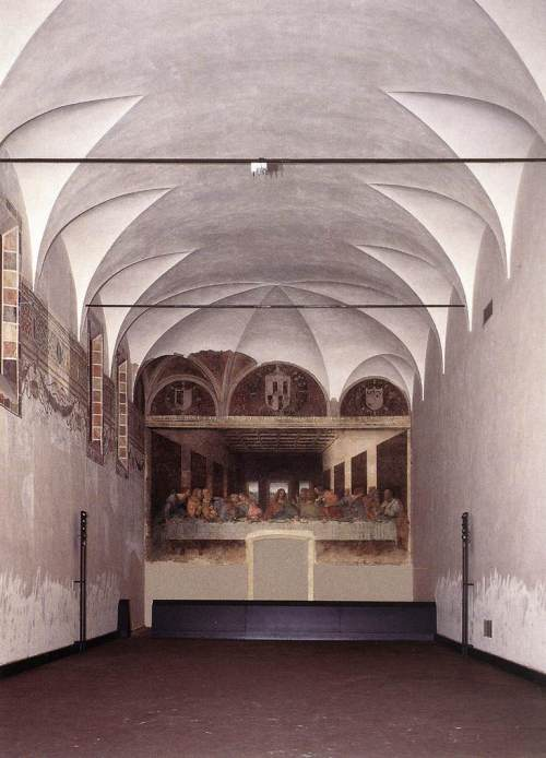 la Cène de Léonard de Vinci milan