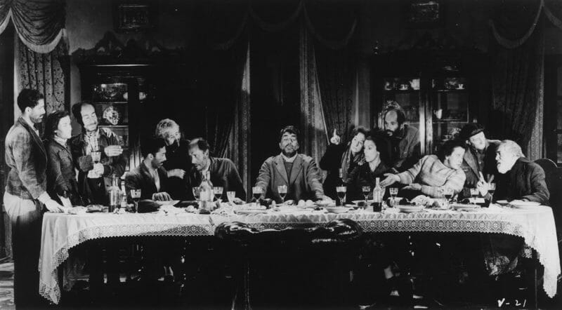 ThenotoriousLast Supper sequence inLuis Buñuel'sVIRIDIANA. la Cène de Léonard de Vinci