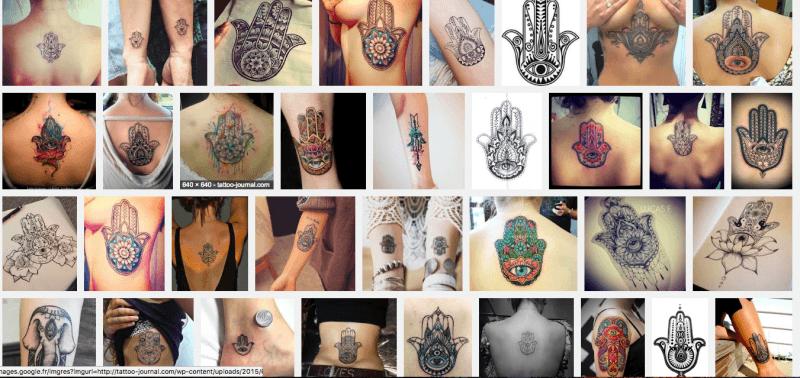 autre tatouage religieux islam