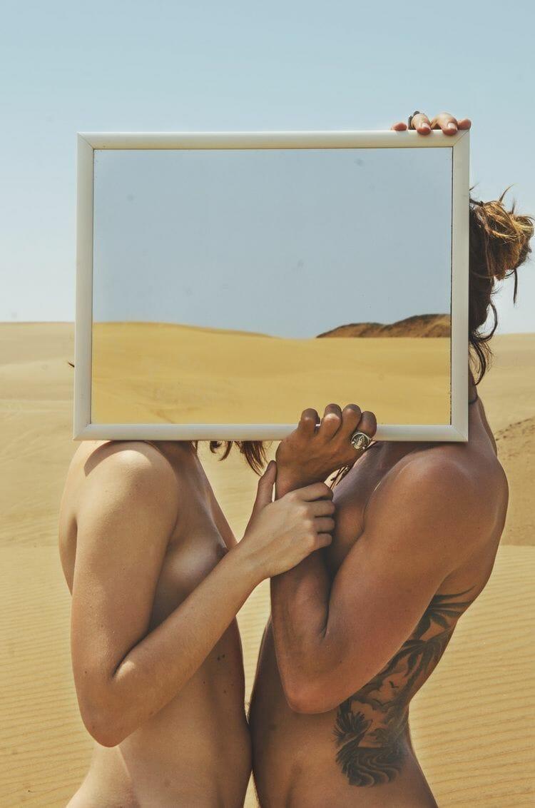 Dans l'imaginaire tout en contraste de Daniela Muttini