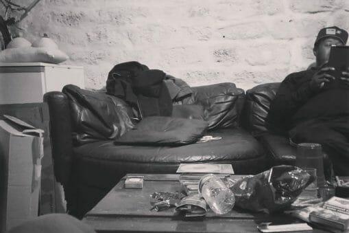 En studio avec les Cheaper Shepherd, Flo the kid, et des rappeurs de Poughkeepsie 29