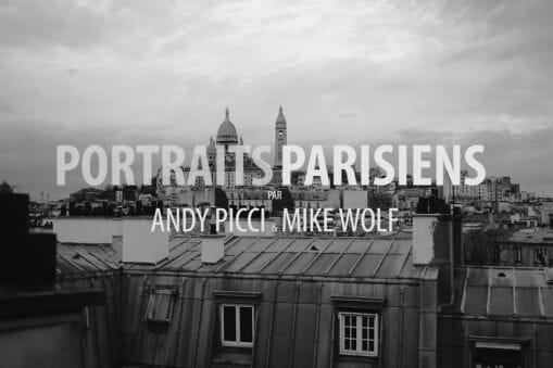 """""""Portraits Parisiens"""" de Andy Picci et Wolf Mike : Les martyres de l'esthétique 5"""