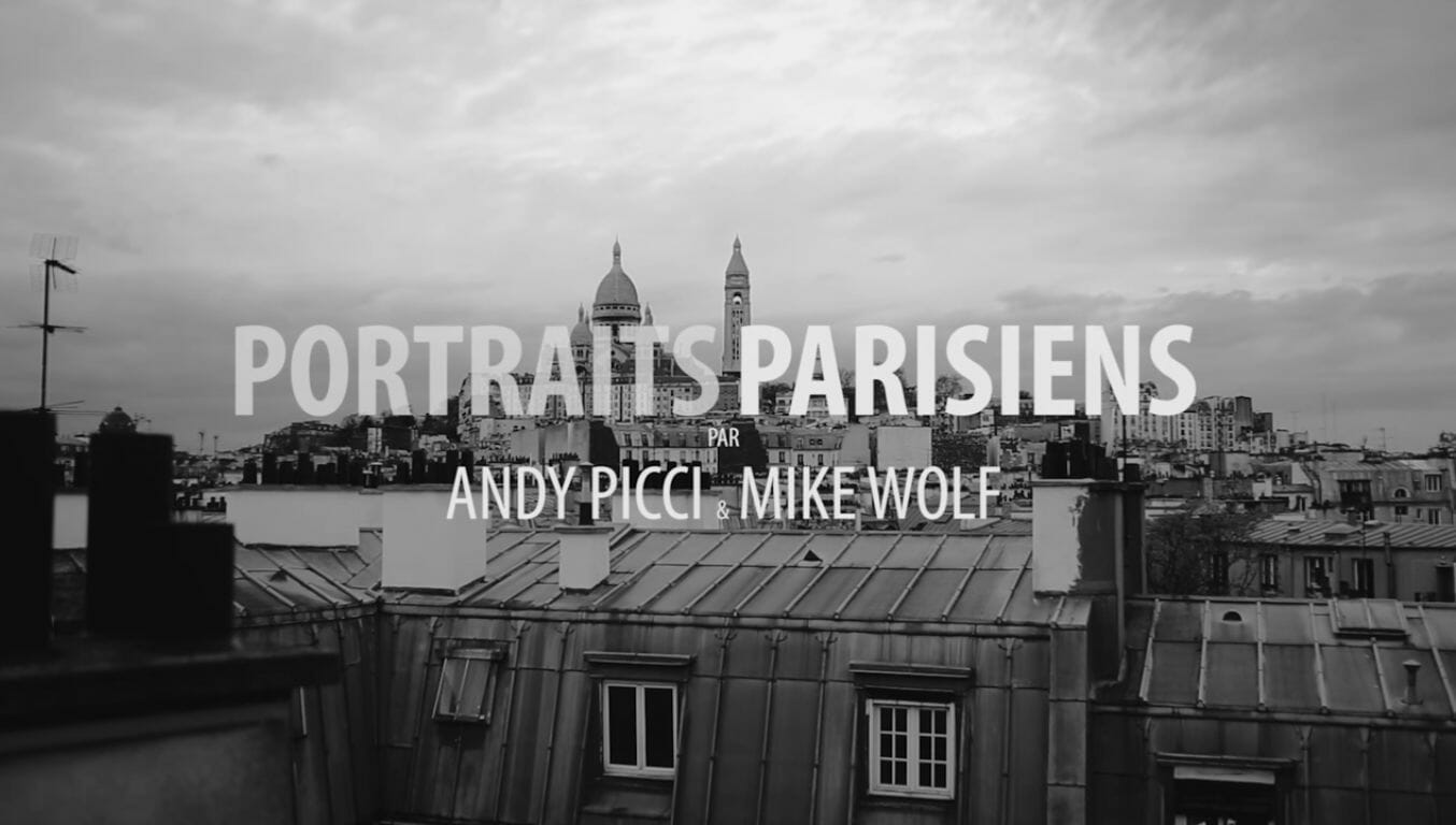 """""""Portraits Parisiens"""" de Andy Picci et Wolf Mike : Les martyres de l'esthétique 1"""